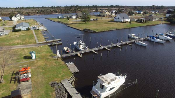 Conveniently located at Mile Marker 193 on the ICW between Oriental and Beaufort